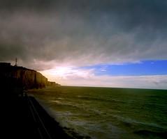 la mer du Nord  France (buch.daniele) Tags: danielebuch mer falaises grandesmarées ciel luminance