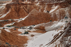 Snowscape (arbyreed) Tags: arbyreed winter cold snow goblins hoodoos goblinvalley valleyofgoblins emerycountyutah redrock sandstone