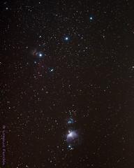 Orione - cintura e spada (Puma 68) Tags: orione sigmaapo120400mmf4556dgoshsm orion nebulosa nebula astrophotography astrofoto cielo sky deepskystacker photoshop lightroom horseheadnebula testadicavallo nebulosafiamma flamenebula orionnebula demairannebula runningmannebula nebulosadiorione nebulosademairan m42 m43 ngc1977 sh2279 sh2277 ic434 staradventurer stelle stella stars star
