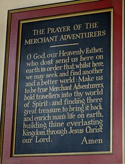 [73632] York : Merchant Adventurers' Hall Chapel - The Prayer of the Merchant Adventurer (Budby) Tags: york northyorkshire hall guild gild chapel church