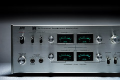 JVC 4VN 880 4-Channel Amplifier (oldsansui) Tags: 1972 1970 1970s audio classic jvc stereo quadraphonic receiver amp retro vintage sound hifi design old radio music seventies audiophile analog electronic solidstate