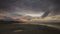 Sonnenuntergang in Cuxhaven (mirko1895) Tags: meer sea nordsee northsea langzeitbelichtung lzbl longexposure sonnenuntergang sunset cuxhaven deutschland germany licht dunkel dark strand beach colorful himmel sky dämmerung dusk