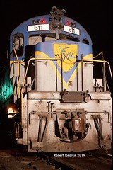 Night Owl (NSHorseheadSD70) Tags: robert tokarcik dh delaware hudson alco c628 trains railways railroads locomotives binghamton ny new york