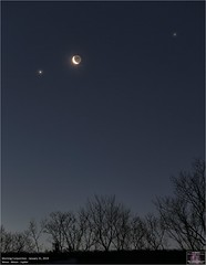 Morning Conjunction - January 31, 2019 (The Dark Side Observatory) Tags: tomwildoner night sky deepsky space outerspace skywatcher telescope 120ed celestron cgemdx asi190mc zwo astronomy astronomer science canon canon6d deepspace guided weatherly pennsylvania observatory darksideobservatory stars star tdsobservatory backyardeos earthskyscience moon crescent conjunction venus jupiter january 2019 morning