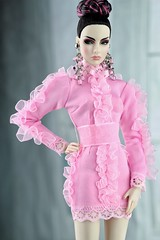 Fashion Royalty Agnes Luxe Life Convention (Regina&Galiana) Tags: fashionroyalty fashion fashiondoll forsale ooak outfit dress agnes luxelifeconvention doll barbie