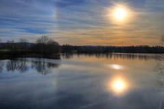 IMG_0259_60_61_Südlicher_See (HDRforEver) Tags: hdr hdrfoto hdrbilder karstenhöltkemeier photomatix new interesting sunset sonnenuntergang canon eos m50 eosm50 lake see sky water blue 2019 outside