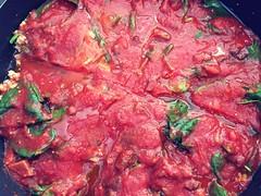Foodie Art2019  ..... Turkey Pan Pasta (Mr. Happy Face - Peace :)) Tags: love macromondays theme february art2019 closeup lean turkey brunch pasta red panfry interesting