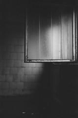 34750029 (nick.medvedenko) Tags: abandoned building bw film 35mm canon 50mm 18 window light dark galss glass