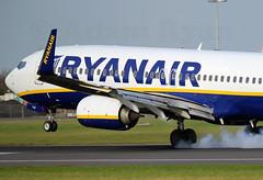 EI-FIF - Ryanair B737-800 (✈ Adam_Ryan ✈) Tags: dub eidw dublinairport dublinairport2019 2019 february spring runway28 canon 6d 100400liiisusm 100400 photography aviation eifif ryanair b737 b737800 b737800as boeing smokeylanding smokeytouchdown smokey smoke