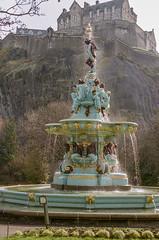 Ross Fountain Portra 400 (separatesunsets) Tags: 35mm canonae1 edinburgh portra400 scotland uk colournegative film