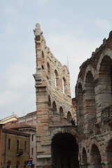 Reaching Higher (Worthing Wanderer) Tags: verona italy spring april sunny city roman ruins architecture