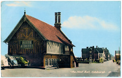 Aldeburgh - Moot Hall Prior to 1960 (pepandtim) Tags: postcard old early nostalgia nostalgic aldeburgh moot hall 20071960 1960 22ald45 norton kildare terrace bayswater london pleasant drive dinwiddy painters decorating dining room ceiling walls window cleaners stormy uss george washington rocket underwater polaris missile aeroflot