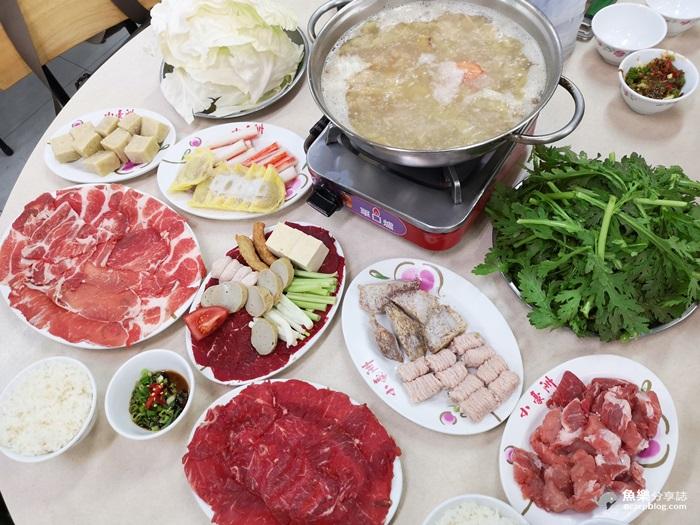 【台南美食】小豪洲沙茶爐|正宗廣東汕頭火鍋 @魚樂分享誌