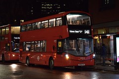 Arriva London Wright StreetDeck HEV (HW100 - SK68 TNJ) 141 (London Bus Breh) Tags: arriva arrivalondon thewrightgroup wrightgroup wrightbus wright wrightstreetdeck wrightstreetdeckhev streetdeck streetdeckhev hybrid hybridbus hybridtechnology hybridelectricvehicle hev hw hw100 sk68tnj 68reg london buses londonbuses bus londonbusesroute141 route141 moorgate cityroad oldstreet tfl transportforlondon
