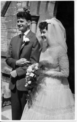IMG_0044 Roy Spafford and Veda Wedding Scawby Parish Church of Saint Hybald's 20th June 1959 (photographer695) Tags: roy veda wedding scawby parish church saint hybalds spafford 20th june 1959