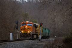 BNSF 7204 Hazel Patch (WillJordanPhoto) Tags: trains ln csx kd cc subdivision hazel patch corbin crooked hill kentucky