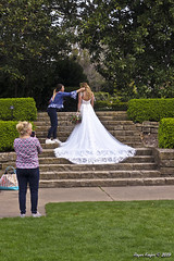 IMG_5621 (Roger Kiefer) Tags: dallas arboretum outdoors beauty nature wedding dress