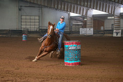 Ginger (wysharp) Tags: barrelracing cowgirl horse