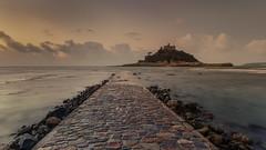 St Michael's Mount (Andrew G Robertson) Tags: cornwall penzance mont st michel michaels mount marazion sunrise