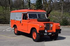 204JNM - Land Rover (matthewleggott) Tags: 204jnm land rover l4v fire engine appliance preserved