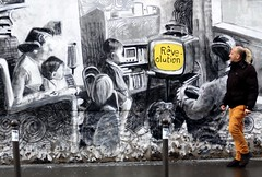 réve-olution (gregjack!) Tags: sony ernestonovo streetphotography street people graffiti mural sprayart reveolution centquatre104 paris france