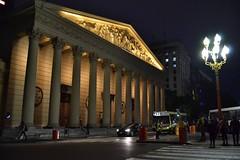 Catedral Metropolitana. (luisarmandooyarzun) Tags: sudamérica city ciudad calle street night noche fotografía photography photographer buenosaires aru catedral