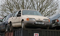 E64 RBD (Nivek.Old.Gold) Tags: 1988 ford sierra 18 gl 1984 escort 13 5door sapphire
