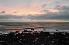 Seascape Dawn - North Sea - Whitley Bay (Gilli8888) Tags: whitleybay coast coastal coastline northsea northeast nikon p900 coolpix sky clouds sea water marine stmaryslighthouse stmarysisland dawn rocks sunrise