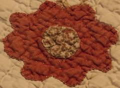 Rustic Old Quilt (mimsjodi) Tags: cloth macromondays quilt hmm macro challenge groupchallenge