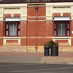 Kerang. The Post Office built in 1886 in a simple Italianate style but with stunning plaster detailing above windows. Architect was George Wilson. thumbnail
