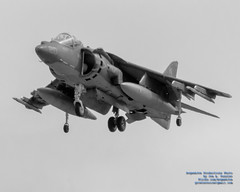 B&W of Hovering AV-8B Harrier With Nozzles Down (AvgeekJoe) Tags: 100400mmf563 2018arcticthunderopenhouse av8b av8bharrier av8bharrierii av8bharrieriinightattack alaska anchorage arcticthunder arcticthunderopenhouse bw blackwhite blacksheep blackandwhite buno163883 d5300 dslr harrier jber jointbaseelmendorfrichardson mcdonnelldouglasav8bharrierii mcdonnelldouglasav8bharrieriinightattack nikon nikond5300 sigma sigma100400mmf563 sigma100400mmf563dgoshsmcontemporary usa vma214 vma214blacksheep aircraft airplane attackjet aviation combataircraft fighterjet jet jumpjet lens plane telephotolens