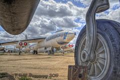 Under My Wheels (Michael F. Nyiri) Tags: planes airplanes marchfieldairmuseum riversideca california southerncalifornia b47stratojet