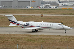 M-ABJA Bombardier Learjet 45 Ryanair Stansted 18th February 2019 (michael_hibbins) Tags: mabja bombardier learjet 45 ryanair stansted 18th february 2019 aeroplane aerospace aircraft aviation airplane air aero airfields airport airports civil commercial plane planes jet jets business bizjet biz executive private m isle of mann iom