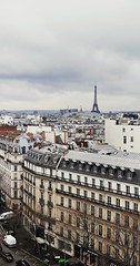 Skyline of Paris with the Iron Lady (dieforice) Tags: skyline paris france huawei eiffel architecture building travel tower city cityskyline