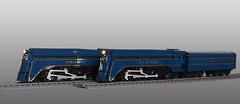 Streamlined S Class Locomotives (narrow_gauge) Tags: sclass spiritofprogress melbourne victorianrailways lego train streamlined railway steamlocomotive broadgauge australia