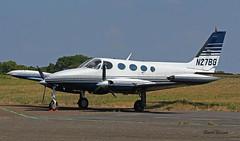 Cessna C340A n° 340A0656 ~ N27BG (Aero.passion DBC-1) Tags: spotting la baule dbc1 david biscove aeropassion avion aircraft aviation plane cessna c340 ~ n27bg