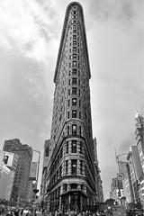 Flat Iron Building in NYC (WilliamND4) Tags: nyc newyorkcity new york architecture building flatironbuilding nikon d750 blackwhite