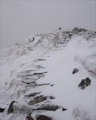 Stairway to Heaven? (fixedfocallength) Tags: bluepick gx9 leica leicadgsummilux15mm117 lumix mft microfourthirds panasonic rating4 m43 benvrackie snow summit scotland cairngorms