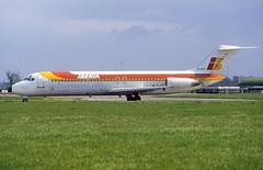 EC-BYF DC-9-32 (Irish251) Tags: iberia douglas mcdonnell dc9 dc932 dub eidw