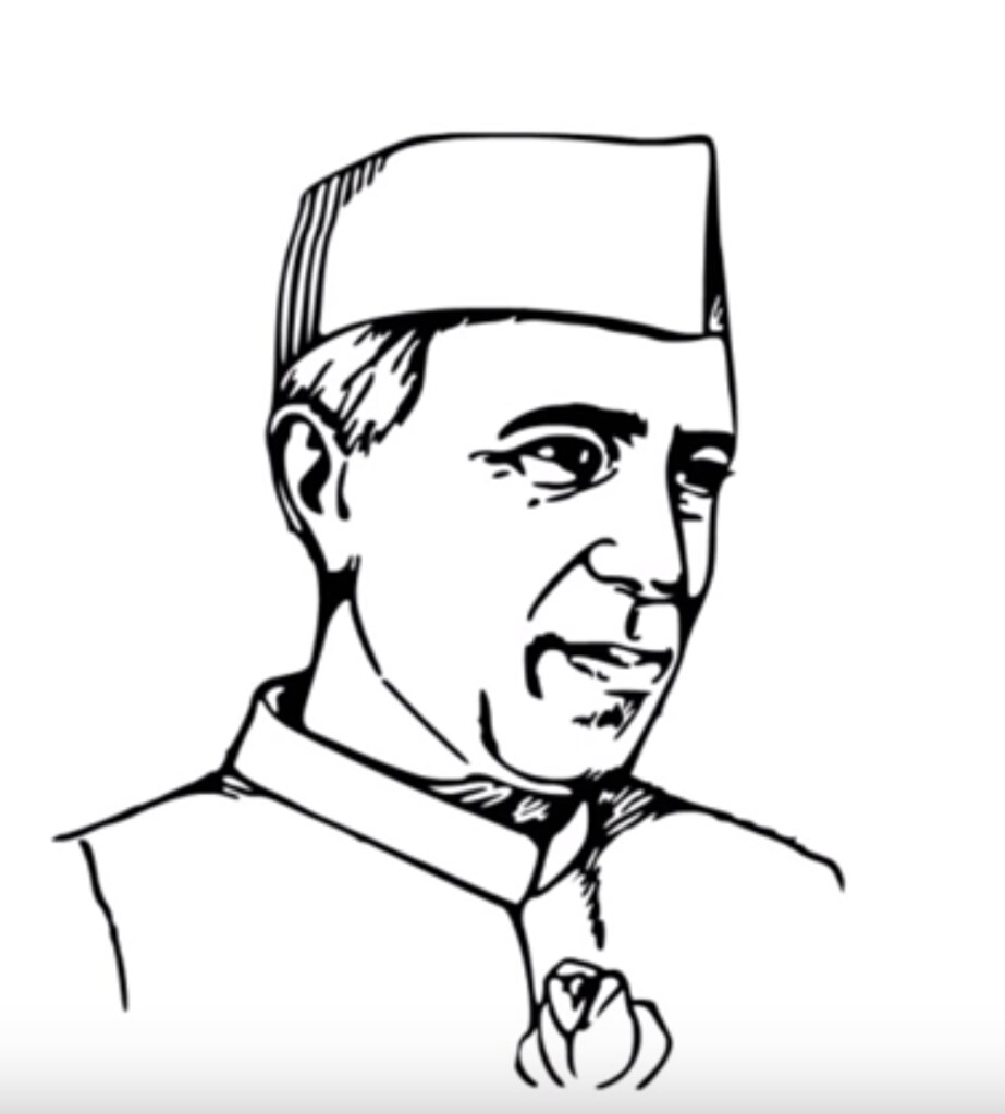 Pandit jawaharlal nehru arts and animals tags pandit jawaharlal nehru pencil drawing sketch