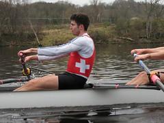 IMG_0967 (NUBCBlueStar) Tags: rowing remo rudern river aviron february march star university sunrise boat blue nubc sculling newcastle london canottaggio tyne hudson thames sweep eight pair