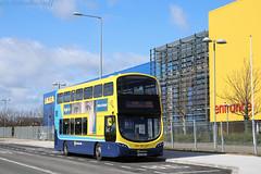 SG116 - Rt155 - Ikea - 240319 (dublinbusstuff) Tags: dublin bus dublinbus sg116 ikea ballymun stmargaretsroad donnybrook bray station route155 wright gemini
