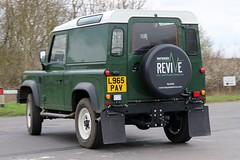 L965 PAV (2) (Nivek.Old.Gold) Tags: 1994 land rover defender 90 tdi hardtop 2495cc haywardrevive norfolk