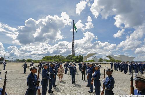 Cerimônia Militar alusiva à substituição da Bandeira Nacional