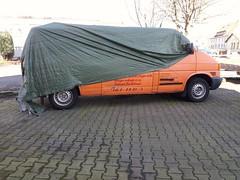 blinder Bulli (QQ Vespa) Tags: wrapped bulli vwbulli vwbus t4 undercover bullilove bullilovers