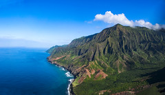 Na Pali by Air 1 (coleleinbach) Tags: napali coastline kauai hawaii ocean landscape sea cliffs mountains