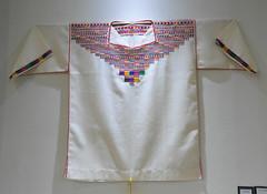 Zacatepec Shirt Mexico Oaxaca Textiles (Teyacapan) Tags: zacatepec oaxaca mexican shirt camisa mixtec museum ropa embroidery clothing