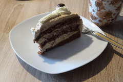 Moccatorte (multipel_bleiben) Tags: essen zugastbeifreunden kuchen espresso torte