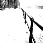 Lachine Canal Covered in Snow (Montreal) thumbnail