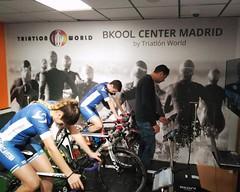 Estreno BKOOL center Triatlón World team clavería entrenos 28-02 03-03 7